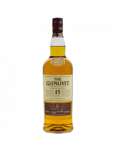 GLENLIVET 15 ANS FRENCH OAK - 70 CL