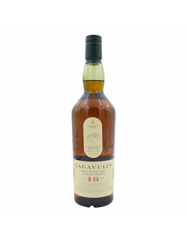 LAGAVULIN SINGLE MALT WHISKY 16 ANS - 70 CL