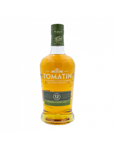 TOMATIN 12 ANS WHISKY - 70 CL