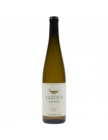 YARDEN PINOT GRIS 2017 - 75 CL
