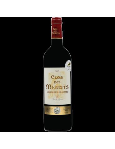 CLOS DES MENUTS SAINT-ÉMILION GRAND CRU 2015 - 75 CL